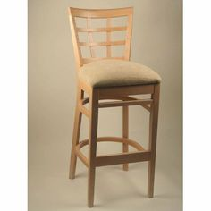 Found it at Wayfair - Lattice Back Counter Stool