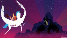 In this week's Disney Doodle, artist Ashley Taylor imagines what Hercules and…
