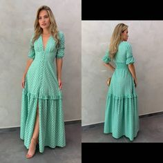Image may contain: one or more people, people standing and text Simple Dresses, Pretty Dresses, Casual Dresses, Fashion Dresses, Velvet Dress Designs, Dress Neck Designs, Cute Dresses For Party, One Piece Outfit, Western Dresses