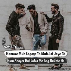 Attitude Status Boys, Hindi Attitude Quotes, Attitude Quotes For Boys, Hindi Quotes, Boy Quotes, Sassy Quotes, Jokes Quotes, Sad Words, Deep Words