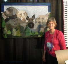 Mt. Ruffmore and more: the quilts of Pauline Salzman - Quilt Inspiration