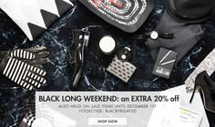 Get even more fashionable with Yoox announcing additional discount of 20% on all the sale items. To grab discount click:- http://bit.ly/1v0IVqr