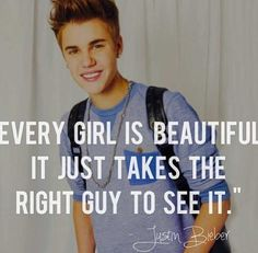 Fyi I am not a Belieber but it's a good quote