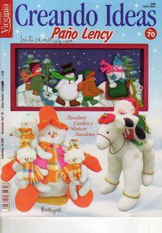 Diskussion about LiveInternet - Russisk… Christmas Makes, Christmas Books, Christmas Snowman, Christmas Stockings, Christmas Crafts, Christmas Ornaments, Book Crafts, Felt Crafts, Crafts To Make