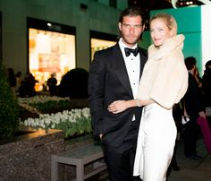 Lincoln Pilcher and Carolyn Murphy