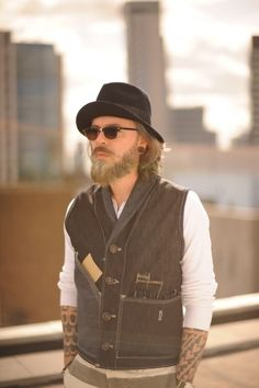 The vest! Not the rest of this hipster crap - Dave Edwards