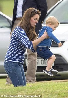 Toddler work-out: Is lifting little George the key to Kate's trim figure?...