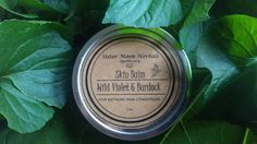 Wild Violet & Burdock Balm Best Acne Treatment, The Balm, Herbalism, Essential Oils, Conditioner, Healing, Moon, Pure Products, How To Make