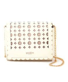 Look at this White Daisy Dash Crossbody Bag on #zulily today!