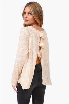Fluttering Heart Sweater
