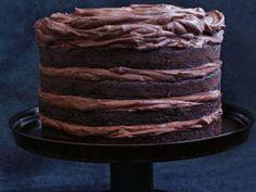 Chocolate buttermilk layer cake - Yahoo7 Food