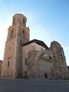 Restos del Monasterio de San Benito en Sahagún.  #leonesp
