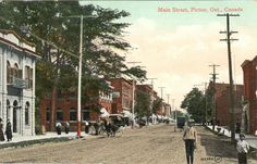 Main Street Picton Ontario Canada 1910 | Flickr - Photo Sharing!
