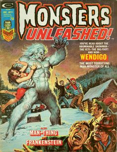 browsethestacks:    Vintage Magazine - Monsters Unleashed #09