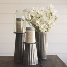 Yarrow Avenue Collection www.yarrowavenuecollection.com Farmhouse Style Farmhouse Online Store Home Decor Online Store galvanized metal candle holders | candle holders | galvanized metal | farmhouse style candle holders