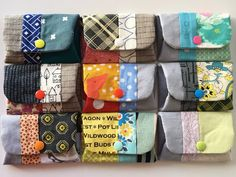 Charm About You: teacher's gifts ~ snappy coin purses + ornaments