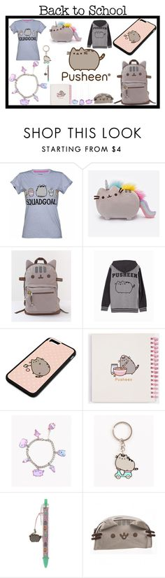 """#PVxPusheen"" by chizzle97 ❤ liked on Polyvore featuring Pusheen, contestentry and PVxPusheen"
