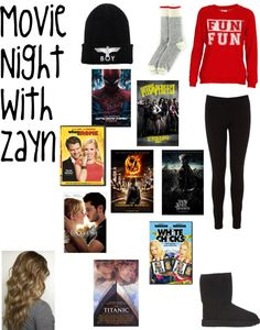"""Movie Night With Zayn."" by one-direction-date-outfits on Polyvore"