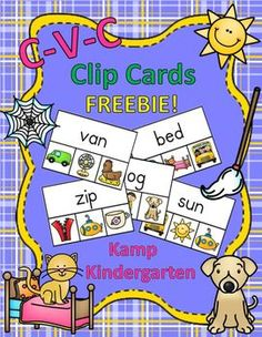 "I added ""CVC Clip Cards FREEBIE"" to an #inlinkz linkup!     https://www.teacherspayteachers.com/Product/CVC-Clip-Cards-FREEBIE-2268427"