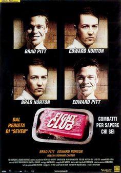 Fight Club film completo cult del 1999 con Brad Pitt e Edward Norton in streaming HD gratis in italiano, guardalo online a 1080p e fai il download in alta definizione.