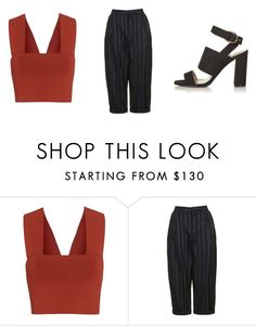 """Untitled #239"" by dianehoneyd ❤ liked on Polyvore featuring A.L.C. and Topshop"