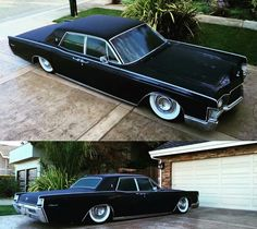 69 Lincoln Continental laying it down