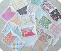 Cottage Shabby Chic Banner Stickers