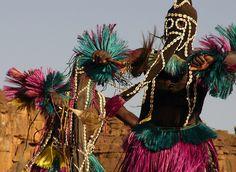 Africa   Dogon Dancer. Mali   © Terri-Lynn Kalhagen.