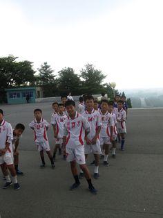 north korea football team youth DPRK soccer boys