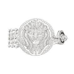 Lion Talisman bracelet © CHANEL Fine Jewellery