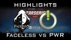 Faceless vs Power Gaming Starladder i-League SEA 2017 Highlights Dota 2