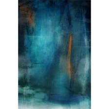Wall Art - 'Deep Ocean Blue' Canvas Art from Z Gallerie