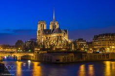 Notre Dame de Paris by dragrund. @go4fotos