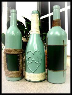 Wine Bottle Crafting