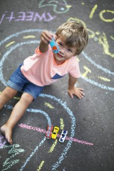 DIY Jumbo Chalk