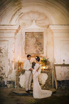 Frida Kahlo inspired wedding on the Amalfi Coast Amalfi Coast Wedding, Amalfi Coast Italy, Wedding Trends, Diy Wedding, 100 Layer Cake, Wedding Rentals, Italy Wedding, Bridesmaid Dresses, Wedding Dresses