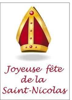 Carte Joyeuse saint nicolas pour envoyer par La Poste, sur Merci-Facteur ! Demain c'est la Saint Nicolas : Validez vos cartes de Saint Nicolas aujourd'hui avant 18h15 pour qu'elles soient postées aujourd'hui et qu'elles arrivent à destination demain ! http://www.merci-facteur.com/ #carte   #SaintNicolas   #StNicolas   #BonneFête   #joyeuseStNicolas   #vivelaStNicolas