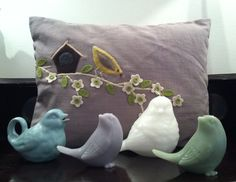 Sweety tweety birds for your home, from Nook Interior Design.