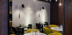 Little Apple Saintonge - habillage murs restaurant