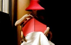 Rodney Smith, Woman in Red Hat with Book, Biblioteka Publiczna Nowy Jork, NYC
