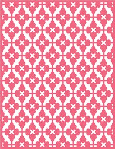 A2 card pattern--------------------------I think I'm in love with this shape from the Silhouette Online Store!