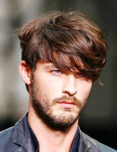 Medium Length Hairstyles For Men Thick Hair