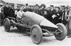 The Nautilus with Louis Coatalen at Brooklands in 1910