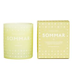 Scented candle, Sommar, by Skandinavisk.