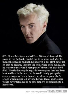 The sad story of Draco…@Lauren Davison Falk here come the tears