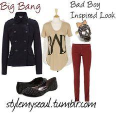 Big Bang Bad boy inspired fashion