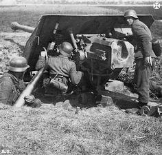 https://flic.kr/p/yVn5dr | 8,8cm-PaK 43 | Sources: www.facebook.com/Geschichte.der.Wehrmacht?fref=nf