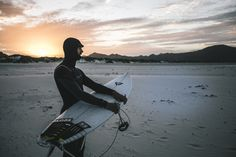 sunset surf with Brett Burcher!