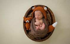 A personal favorite from my Etsy shop https://www.etsy.com/listing/279453462/newborn-fox-outfit-baby-fox-newborn