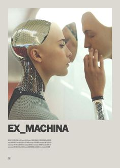 Ex Machina Minimal Movie Poster - Print Design Film Poster Design, Movie Poster Art, Poster S, Poster Designs, Poster Wall, Minimal Movie Posters, Minimal Poster, Cinema Posters, Minimalism Movie